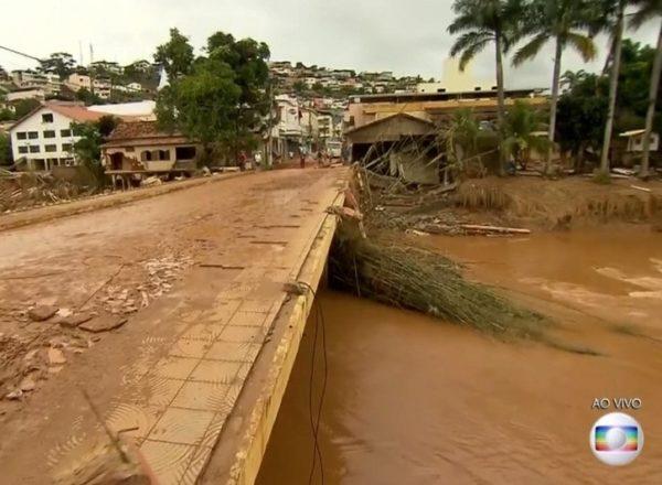ENCHENTE EM RIO CASCA DEZ 2017 AÉREAS PARA REDE GLOBO MINAS